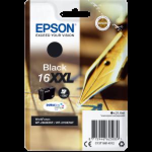 Cartouche d'encre origine Epson T1681 XL / C13T16814012 Noir