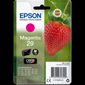Cartouche Epson T2983 magenta Série 29 Fraise