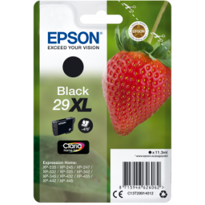 Cartouche Epson T2991 noire Série 29XL Fraise