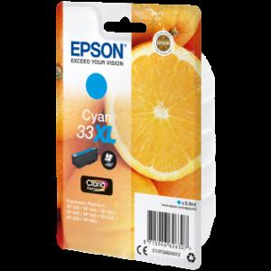 Cartouche encre Epson T3362 Cyan XL - Oranges