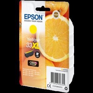 Cartouche encre Epson T3364  jaune XL - Oranges