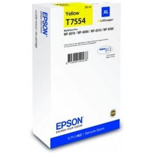 T7554 Cartouche encre Epson jaune XL