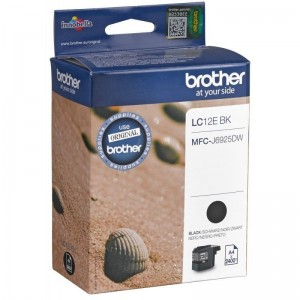 Brother origine LC12E BK