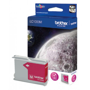 Cartouche origine Brother LC1000M Magenta