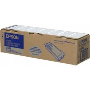 Toner laser origine Epson C13S050585 Noir