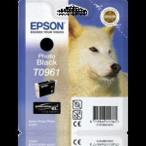 Cartouche d'encre origine Epson T0961 / C13T09614010 Noir