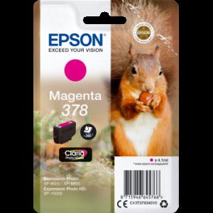 Cartouche d'encre origine Epson T3783 / C13T37834010 Magenta