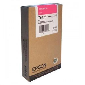 Epson T6123 / C13T612300 Magenta – Cartouche d'encre origine