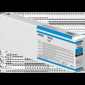 Cartouche d'encre Origine Epson T8042 XL Cyan / C13T804200