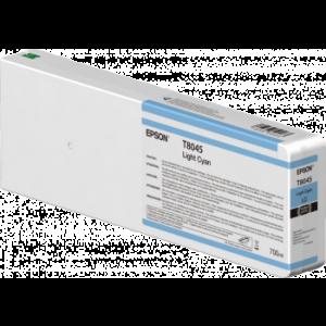 Cartouche d'encre Origine Epson T8045 XL Cyan clair / C13T804500