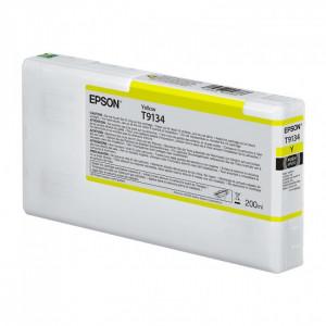 Epson T9134 / C13T913400  Jaune – Cartouche d'encre origine