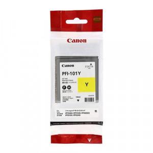 Canon-Cartouche-d'encre-PFI 101Y