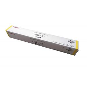 Toner laser origine Canon C-EXV31 Jaune