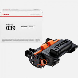 CANON TONER LASER 039 Noire