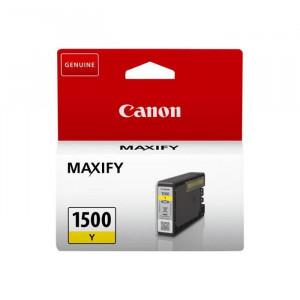 Cartouche encre canon PGI1500Y jaune