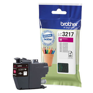 Cartouche encre Brother LC3217M Magenta