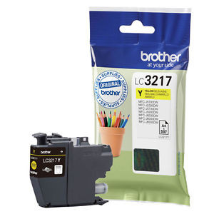 Cartouche encre Brother LC3217Y Jaune