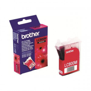 Cartouche encre Brother LC-800m	Magenta