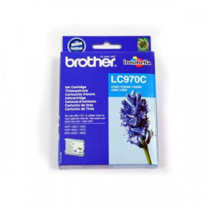 Cartouche encre Brother LC970C Cyan