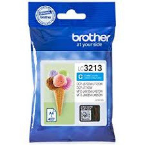 Cartouche encre Brother LC3213C Cyan