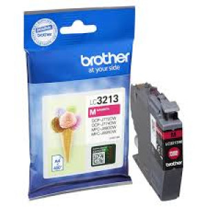 Cartouche encre Brother LC3213M Magenta