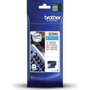 Cartouche encre Brother LC3239XLC Cyan