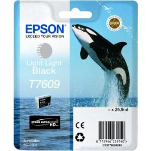 Cartouche d'encre Origine Epson T7609 Noir light