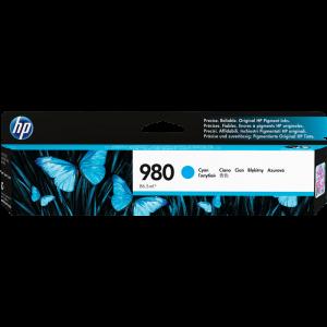 Cartouche d'encre origine HP 980  / D8J07A Cyan