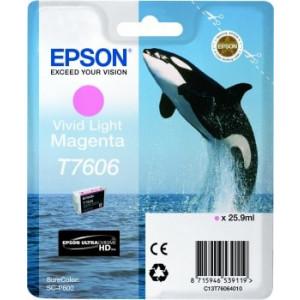 Cartouche encre Epson C13T76064010 Magenta Clair