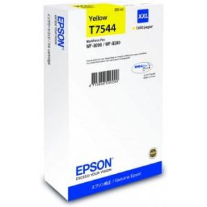 Cartouche encre Epson T7544 jaune