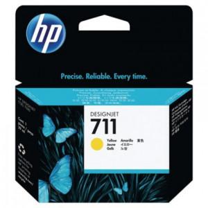 Cartouche encre HP 711 CZ132A  Jaune
