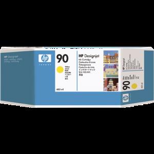 Cartouche encre HP C5065A  N°90 Jaune