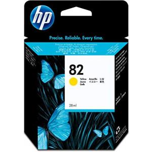 Cartouche encre HP CH568A N°82 Jaune