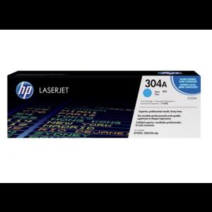 Cartouche laser Cyan HP 304A CC531A