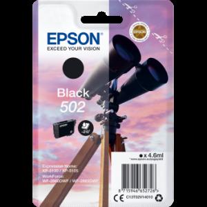 Cartouche d'encre origine Epson 502 / C13T02V14010 Noir