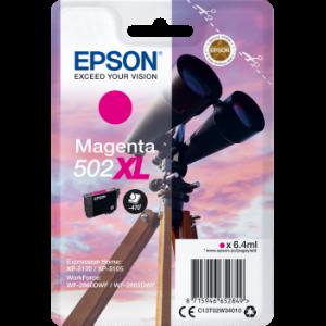 Cartouche d'encre origine Epson 502 / C13T02W34010 XL Magenta