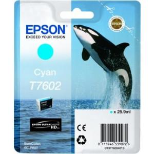 Epson  T7602 Cyan – Cartouche d'encre origine