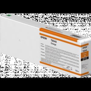 Epson T804A Orange – Cartouche d'encre origine