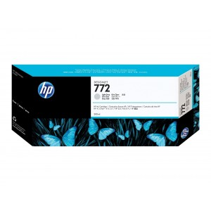 Cartouche d'encre Origine HP 772 Gris clair / CN634A