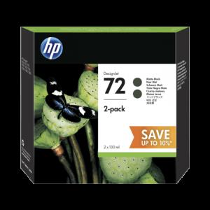 HP P2V33A 72 Noir Mat