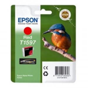 Cartouche encre Epson T1597 rouge
