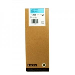 cartouche encre Epson T6065 cyan Clair