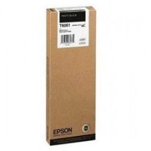 cartouche encre Epson T6061 noire photo