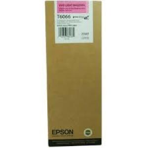 Cartouche encre Epson T6066 magenta  clair