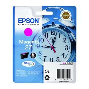 Cartouche d encre Epson T2703 Magenta 27- Réveil