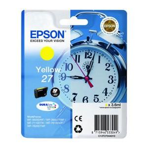 Cartouche d encre Epson T2704 jaune 27- Réveil