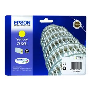 Cartouche encre Epson T7904 - 79XL  jaune