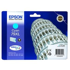 Cartouche encre Epson T7902 - 79XL  cyan