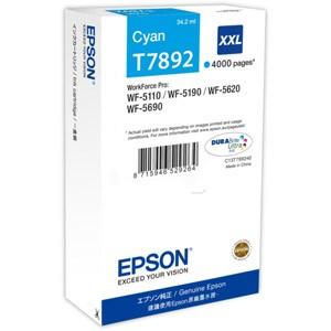 Cartouche encre Epson T7892 XXL Cyan