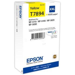 Cartouche encre Epson T7894 XXL jaune